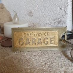20201018_143928.jpg Download free GCODE file car service garage key ring • 3D printing design, catf3d
