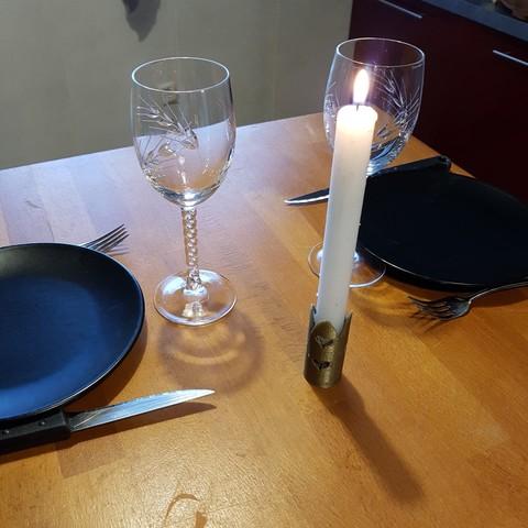 Free 3D model candlesticks, catf3d
