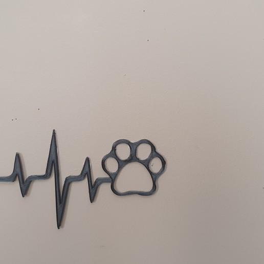 20200324_123151.jpg Télécharger fichier STL le battement de mon cœur 2 = 4 lignes de vie • Objet pour impression 3D, catf3d