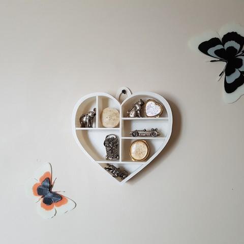 20170726_162123.jpg Download STL file Heart shelf • 3D printing model, catf3d