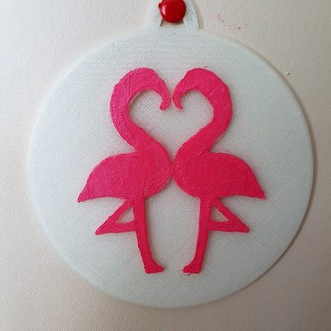 Download STL file Table flamingo • 3D print design, catf3d