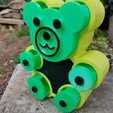 3D print model teddy bear box, catf3d