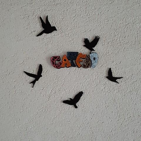 Descargar archivo 3D gratis figuras de pájaros, catf3d