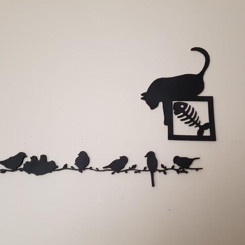3d printer designs cat pictures, catf3d