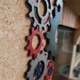 STL table decoration gears, catf3d