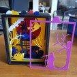 Imprimir en 3D marco de Halloween, catf3d