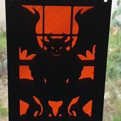 """Descargar modelos 3D para imprimir la tabla de """"el diablo"""", catf3d"""