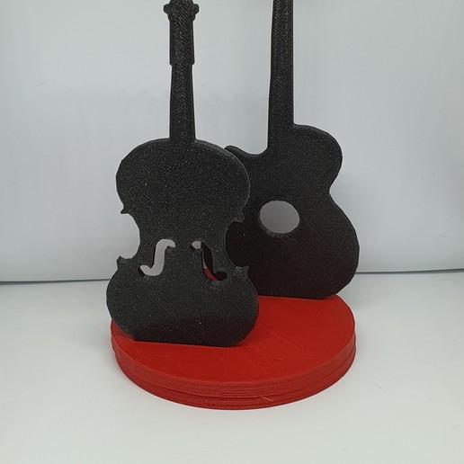 Télécharger fichier imprimante 3D porte serviette : thème musique , catf3d