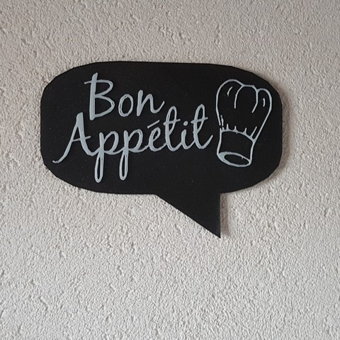 "Download 3D printer files The ""bon appétit"" board, catf3d"
