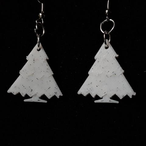 Free STL  848/5000 fir earring, catf3d