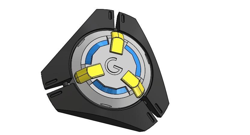 Сборка12.JPG Download STL file Tracer pulse bomb. • 3D printable design, Cosple