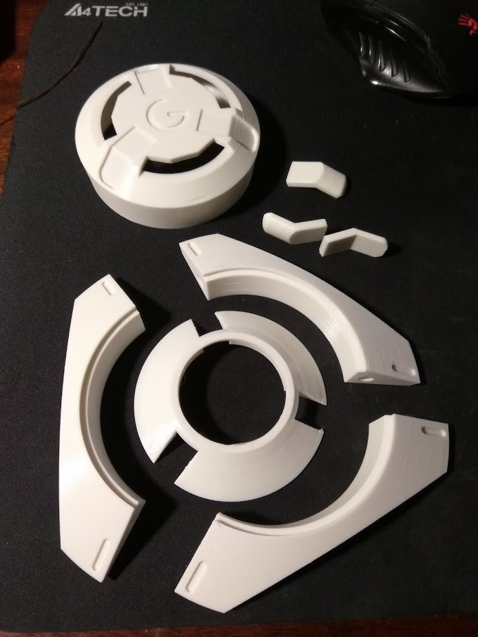 IMG_20180128_193721.jpg Download STL file Tracer pulse bomb. • 3D printable design, Cosple
