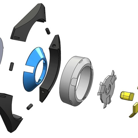 Сборка555.JPG Download STL file Tracer pulse bomb. • 3D printable design, Cosple