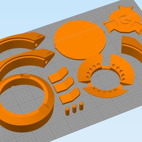 333333.jpg Download STL file Tracer pulse bomb. • 3D printable design, Cosple