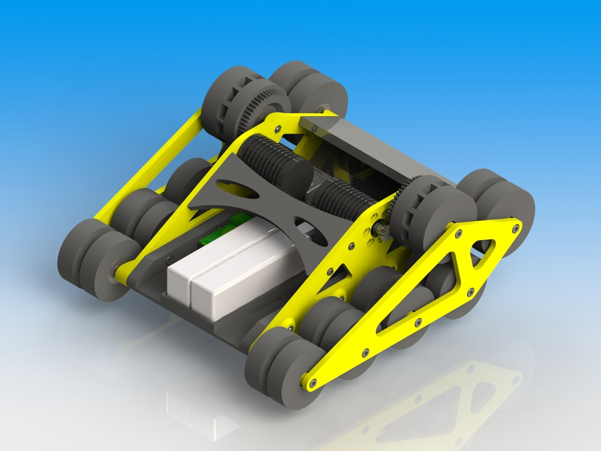 Untitled.JPG Download STL file RC Speed Tank • 3D printable design, Bryant