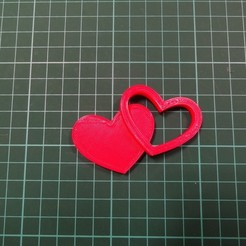Download free 3D printing templates Heart, robinfang