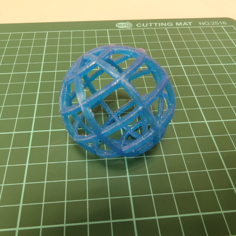 Download free STL file Grid ball • 3D printable template, robinfang