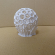 Free 3D printer designs Caged ball, robinfang
