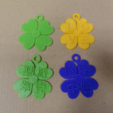 Free 3D printer designs Clover tag, robinfang