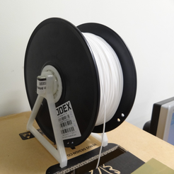 Download free STL file Filament Spool Holder • 3D printer template, robinfang