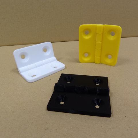 Télécharger fichier impression 3D gratuit Charnière, robinfang