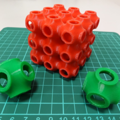 Capture d'écran 2017-05-16 à 11.52.40.png Download free STL file Schwarz P surface lattice • 3D printer model, robinfang