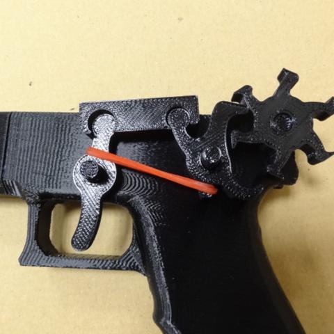 Download Free 3d Printer Designs Rubber Band Gun ・ Cults