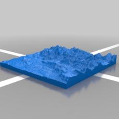 Télécharger fichier imprimante 3D gratuit Annecy Lake - Lac d'Annecy, Pator12