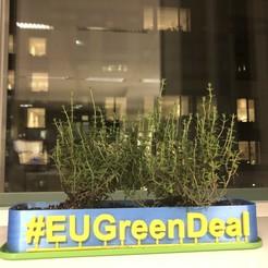 Télécharger STL gratuit Pot de fleurs - #EUGreenDeal, Pator12