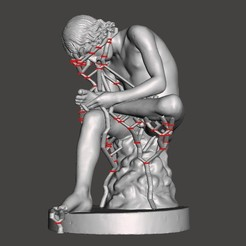 Download free STL file Statue of the Spinario / Fedele / Pinau - Rome / La Crosse / Epinal • 3D printing template, Pator12