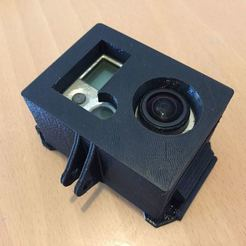 Download free 3D printing templates GoPro Hero2 Casing Fixed, Pator12