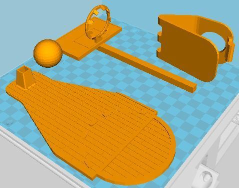 rendu impression.JPG Download free STL file Mini basketball basket • 3D print model, LouD3D