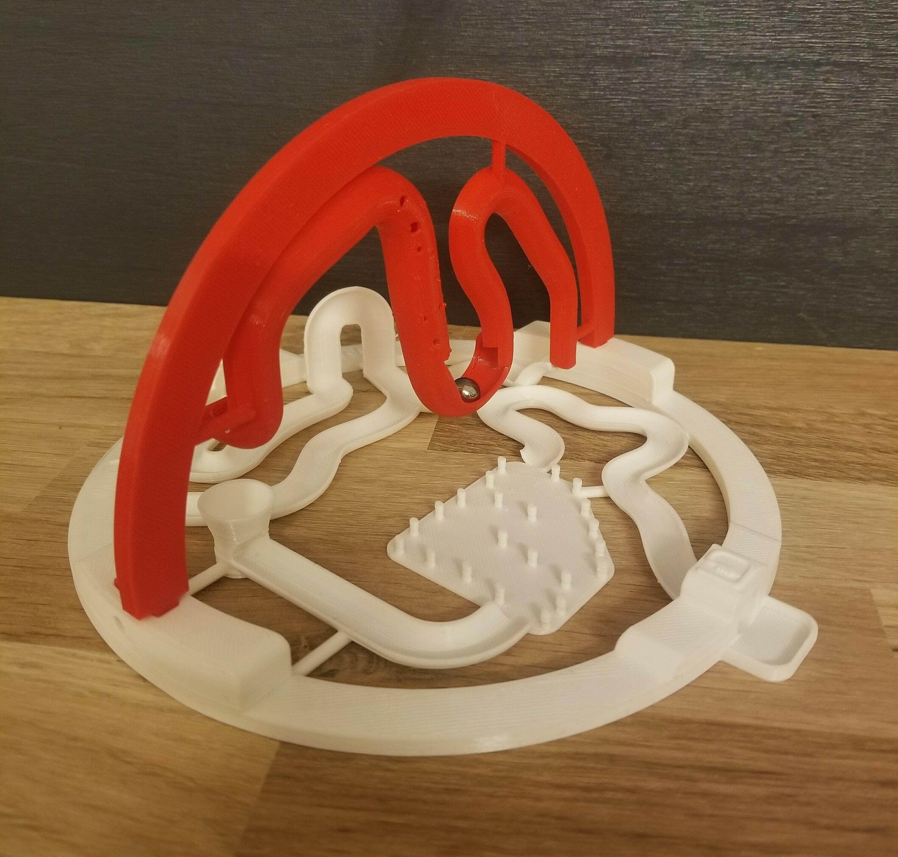 20201220_190056.jpg Download STL file 3D ball course • 3D printer template, LouD3D