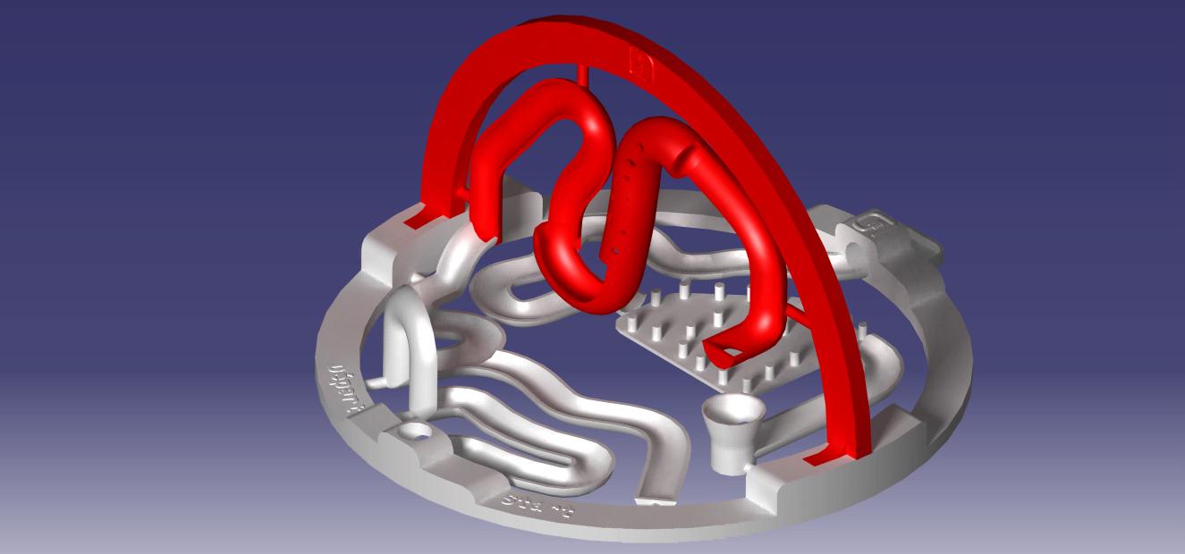 visuel 3D.jpg Download STL file 3D ball course • 3D printer template, LouD3D