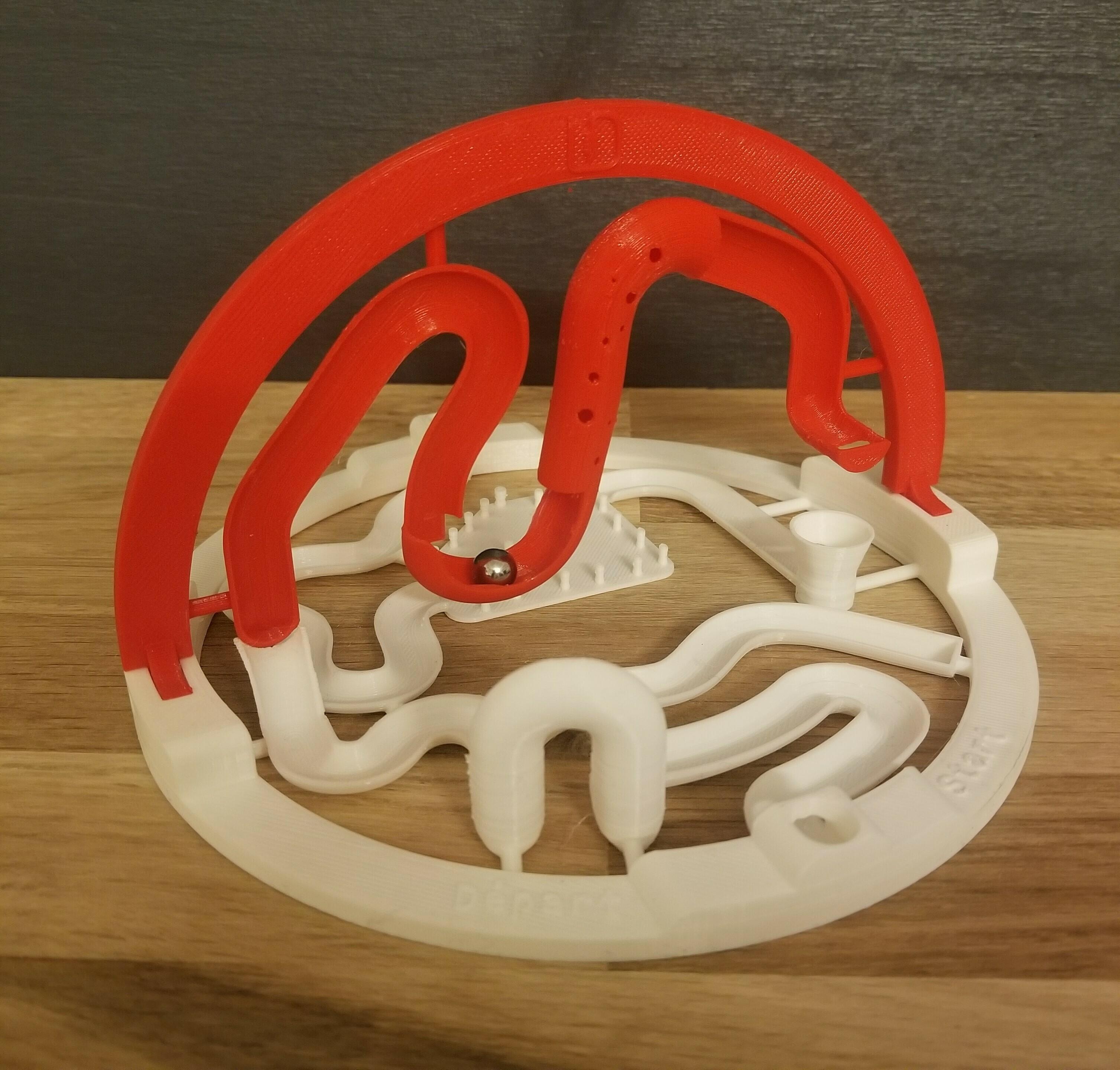 20201220_190039.jpg Download STL file 3D ball course • 3D printer template, LouD3D