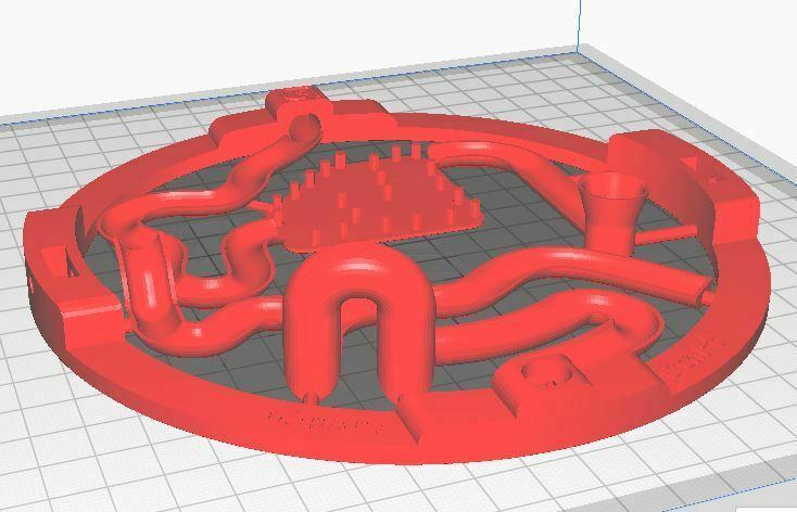 rendu impression2.JPG Download STL file 3D ball course • 3D printer template, LouD3D