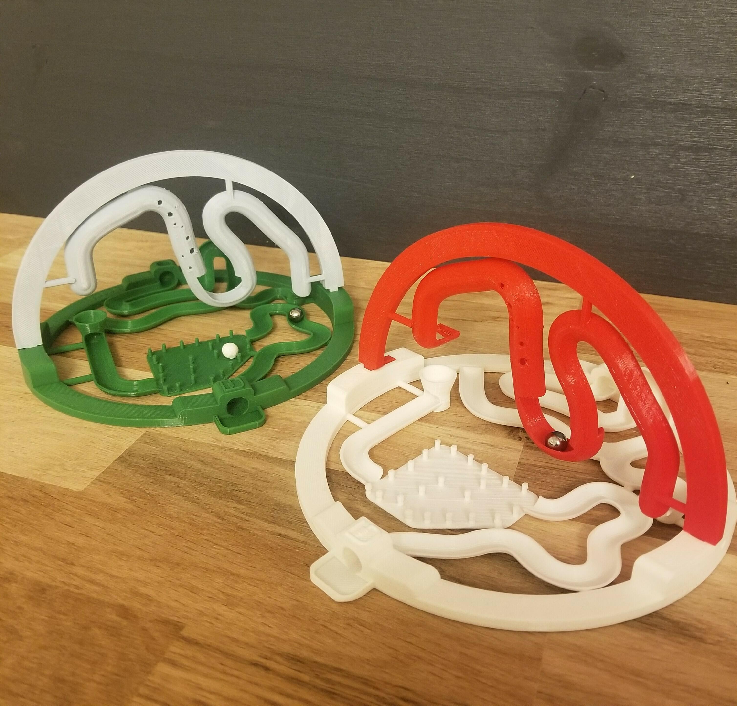20201220_190127.jpg Download STL file 3D ball course • 3D printer template, LouD3D