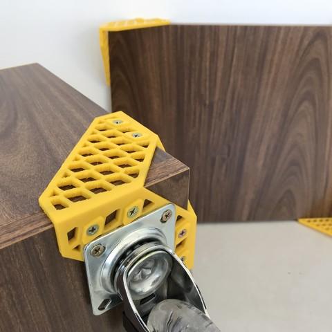 Mateus Machado_Cantoneira Trama _Print Mobi_07.JPG Download free STL file Furniture Cantoneiras Trama Print Mobi • 3D printing template, mateusmachado