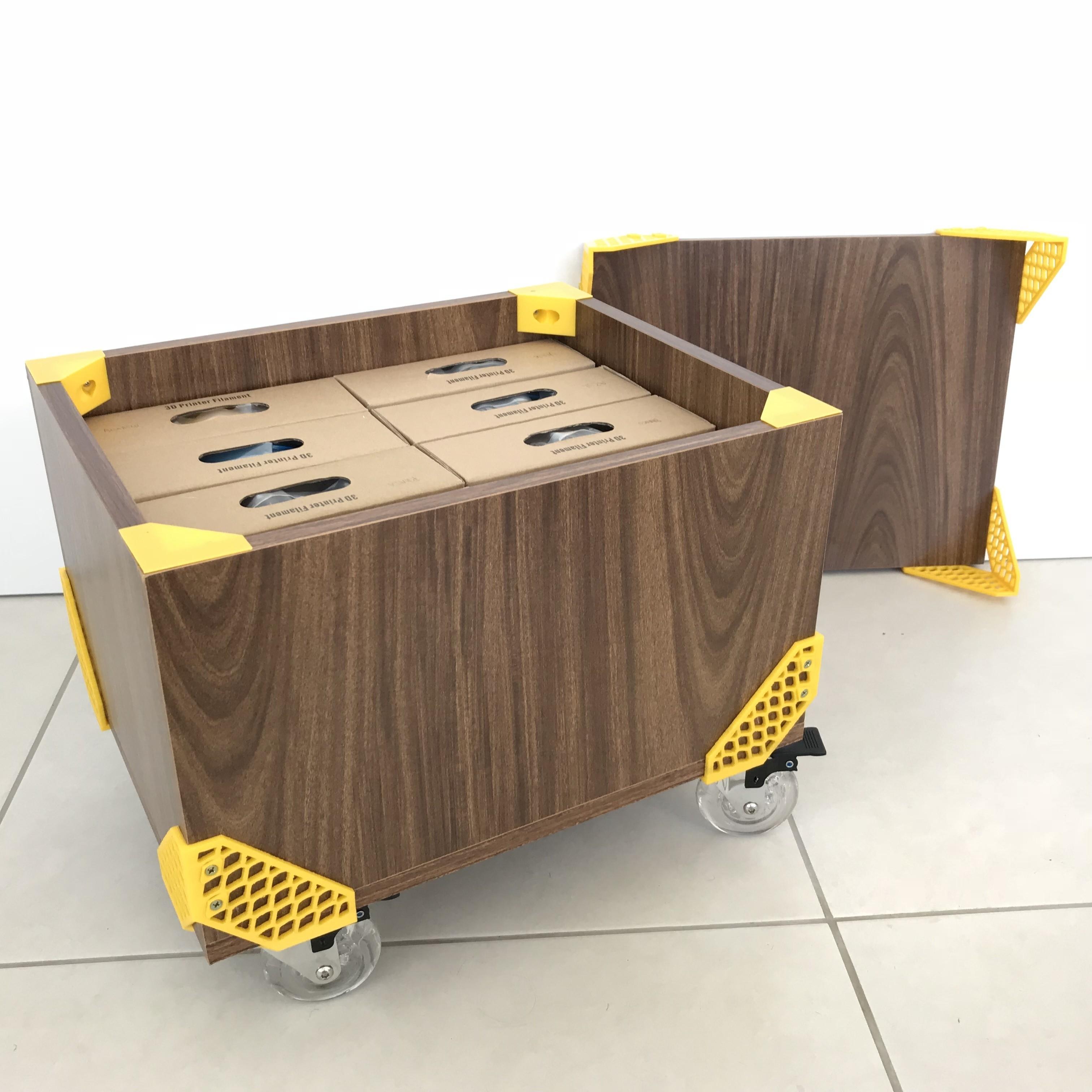 Mateus Machado_Cantoneira Trama _Print Mobi_03.JPG Download free STL file Furniture Cantoneiras Trama Print Mobi • 3D printing template, mateusmachado
