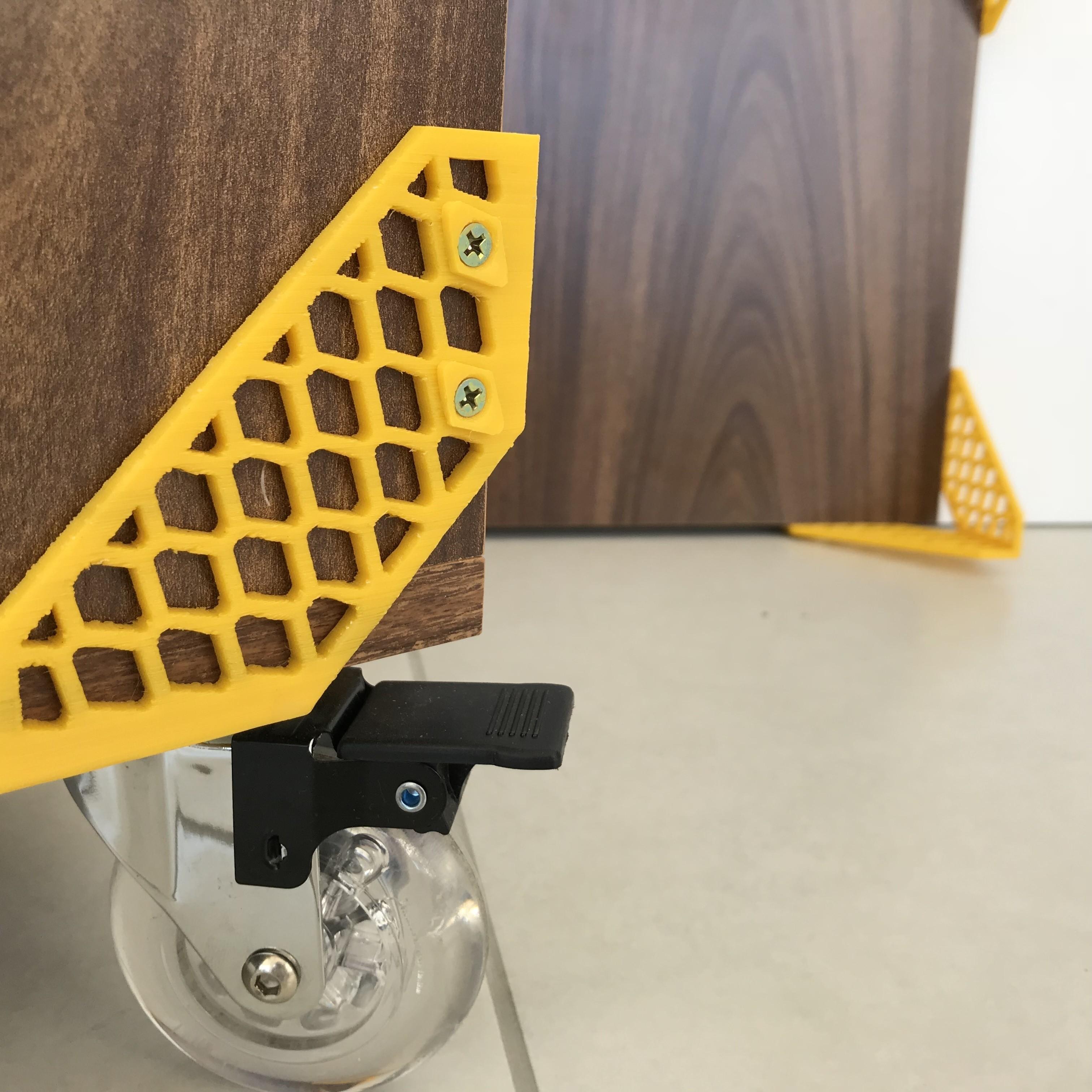 Mateus Machado_Cantoneira Trama _Print Mobi_06.JPG Download free STL file Furniture Cantoneiras Trama Print Mobi • 3D printing template, mateusmachado