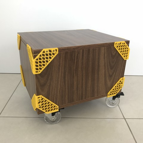 Mateus Machado_Cantoneira Trama _Print Mobi_02.JPG Download free STL file Furniture Cantoneiras Trama Print Mobi • 3D printing template, mateusmachado