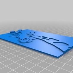 Download 3D printing templates giraffe, olo2000pm