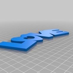 Download 3D model Love, olo2000pm