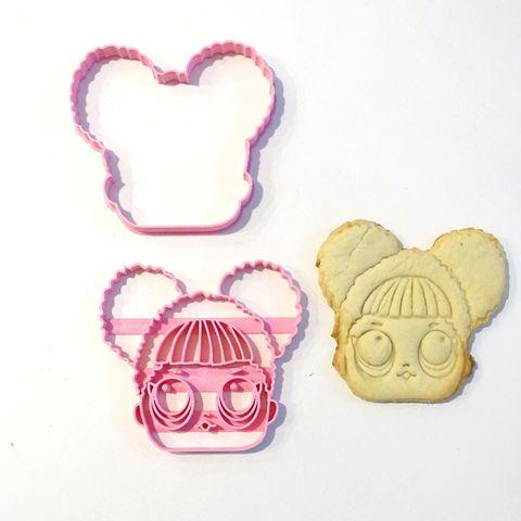 Download 3D printer templates lol surprise 1 cookie cutter 2 pieces, PatricioVazquez