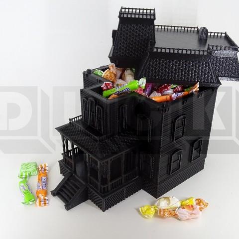 BARTES3DUCK.jpg Download STL file bates motel house psycho house • 3D printable object, PatricioVazquez