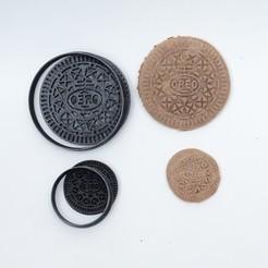 DSC05465.JPG Download STL file cookie cutters cutter cookies oreo original • Template to 3D print, PatricioVazquez