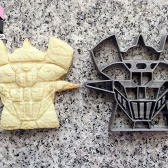 STL mazinger cookie cutter for cookies, PatricioVazquez