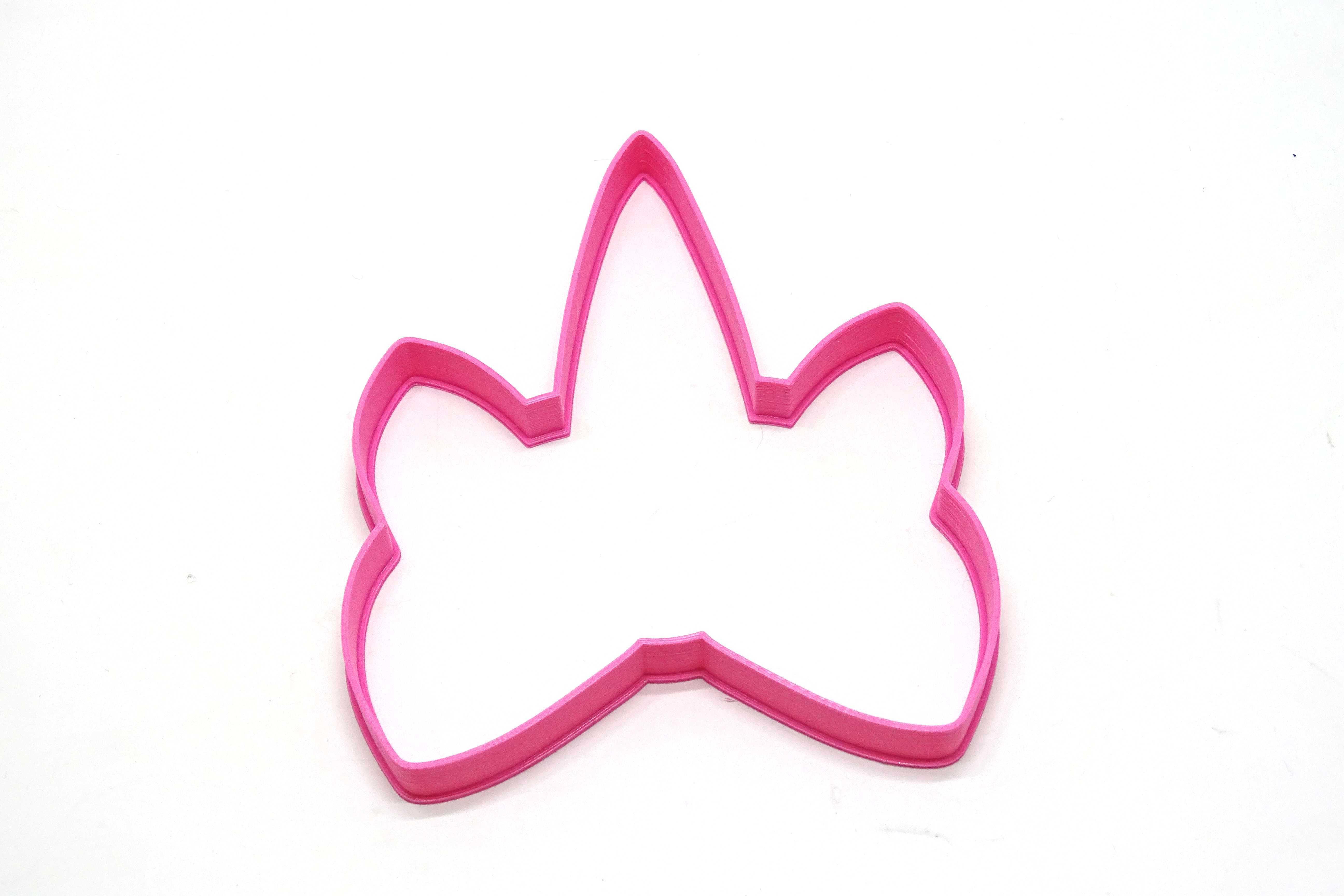 cuerno con moño.JPG Download STL file unicorn cookie cutter unicorns • 3D print model, PatricioVazquez