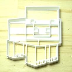 Fichier impression 3D emporte-pièce minecraft cochon emporte-pièce emporte-pièce emporte-pièce, PatricioVazquez