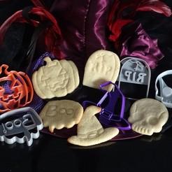 DSC05452.JPG Download STL file cookie cutters halloween cookies Halloween pack • 3D printing model, PatricioVazquez
